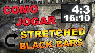 CS:GO - Resolução 4:3 Stretched / Black Bars ( AMD / NVIDIA / INTEL ) #21