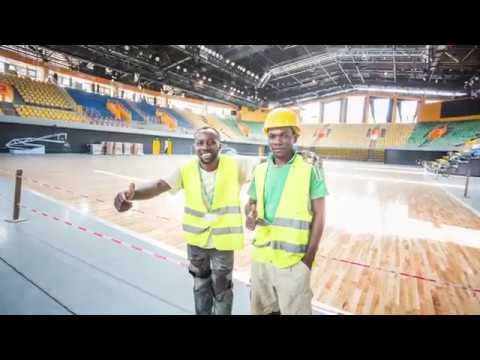 Gabon : Le Palais des Sports de Libreville prêt pour la 23ème édition du CAN handball 2018.
