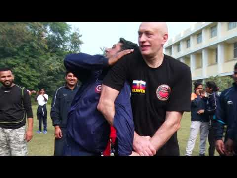 Police Pain Control Shocking Strikes Systema Spetsnaz India Vadim Starov