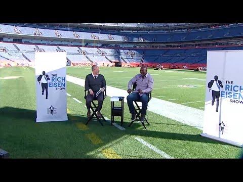 Terrell Davis Joins Rich at Sports Authority Field at Mile High (Full Interview) 10/23/14
