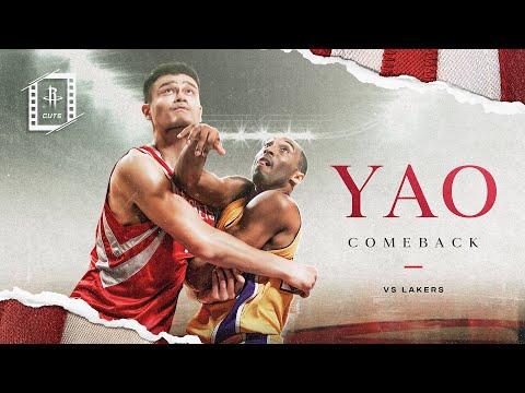 Rockets Cuts | Ep. 19 | Yao Comeback | Houston Rockets