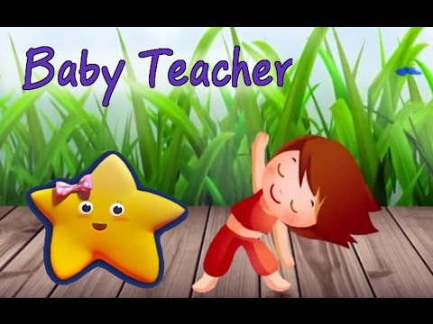 Exercise Song For Kids from Baby Teacher! Kids Exercise Fun Video