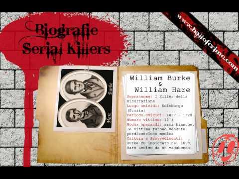 biografie serial killer - WILLIAM BURKE & WILLIAM HARE ---WWW.HALLOFCRIME.COM---