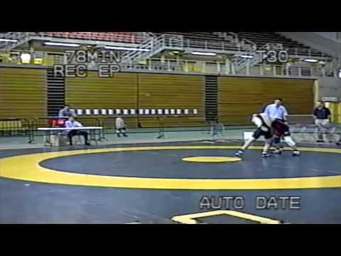 2004 Canada West Championships: 61 kg Jake Ledoux (SFU) vs. Colin Wist (SASK)