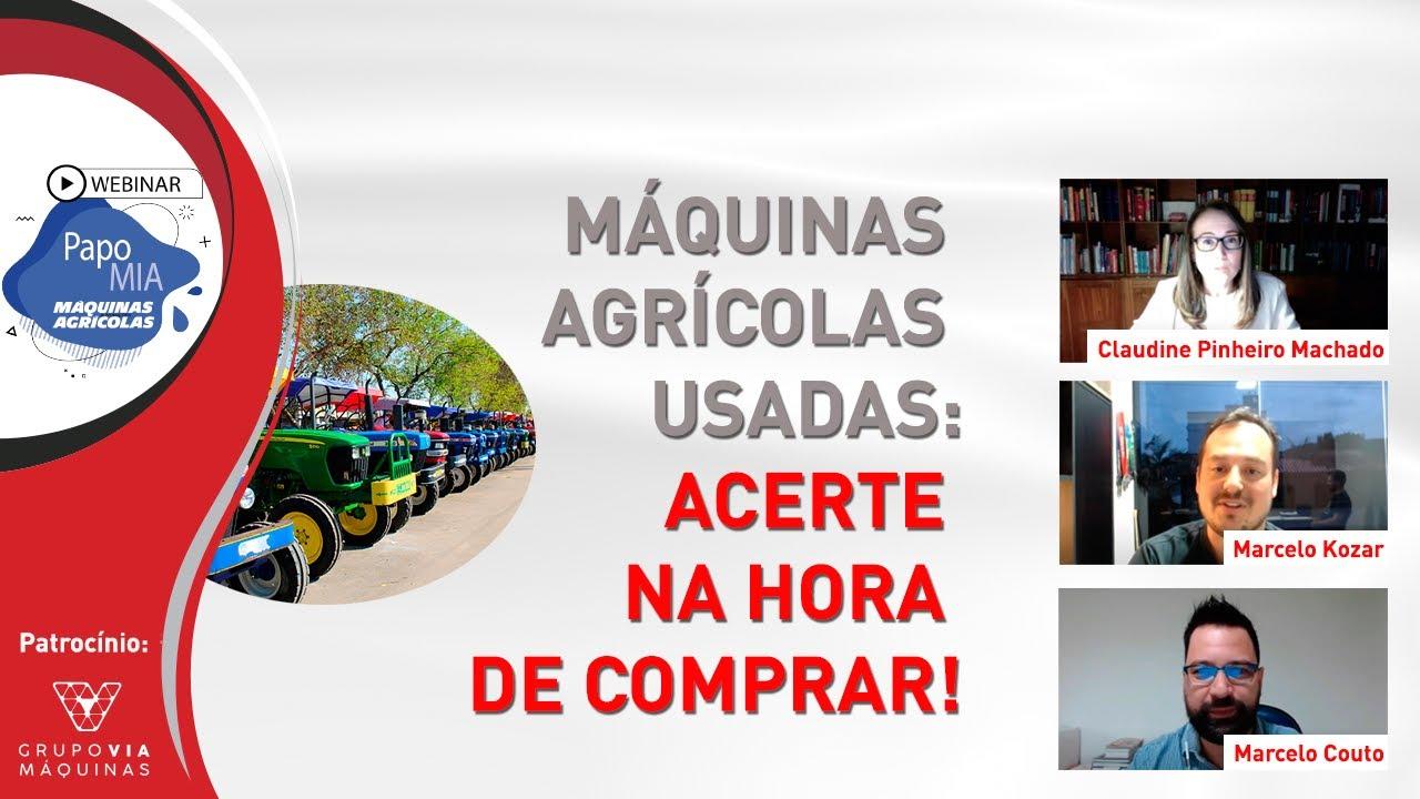 PAPO MIA - MÁQUINAS AGRÍCOLAS USADAS: ACERTE NA HORA DE COMPRAR!