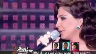 Law Fiyi and Sallimli Aleih - Elissa (live) - Star Academy 7 Lebanon Final prime (with asma)