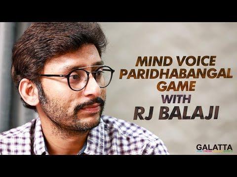 Mind Voice Paridhabangal Game with RJ Balaji