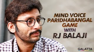 Mind Voice Paridhabangal Game with RJ Balaji