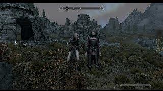 The Elder Scrolls V: Skyrim. Мертвый трэлл. Ворожея. Прохождение от SAFa