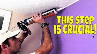 How to soundproof walls that are already up? This step is Crucial!