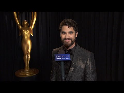 70th Emmys Thank You Cam: Darren Criss From The Assassination Of Gianni Versace: ACS