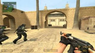 Counterstrike Source de_dust Gameplay