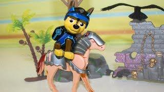 Мультики про игрушки Герои в масках Ромео Против Щенячий патруль #Мультфильмы Видео для детей