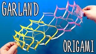 Origami Tutorial: Christmas Garland