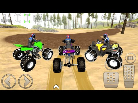 Extreme Off-Road driving on Quad Bikes game #1 - Offroad Outlaws Bikes Android Gameplay  