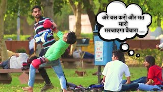EPIC - Fight Me | Asking Delhi Guys For Boxing prank by Himanshu soni Productions