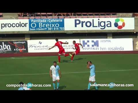 ¡EL SALMANTINO ES DE 2ªB!   Resumen SD Compostela 0-1 CF Salmantino   Playoff de ascenso
