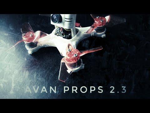 Babyhawk FPV- Emax Avan props!