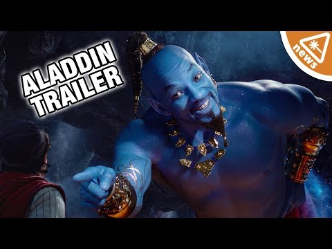 Is Will Smith's Live Action Genie as Bad as Aladdin Fans Think? (Nerdist News w/ Jessica Chobot)