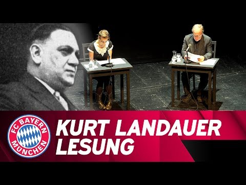 World Premiere! Rare insights into FC Bayern president Kurt Landauer's letter correspondence 📖
