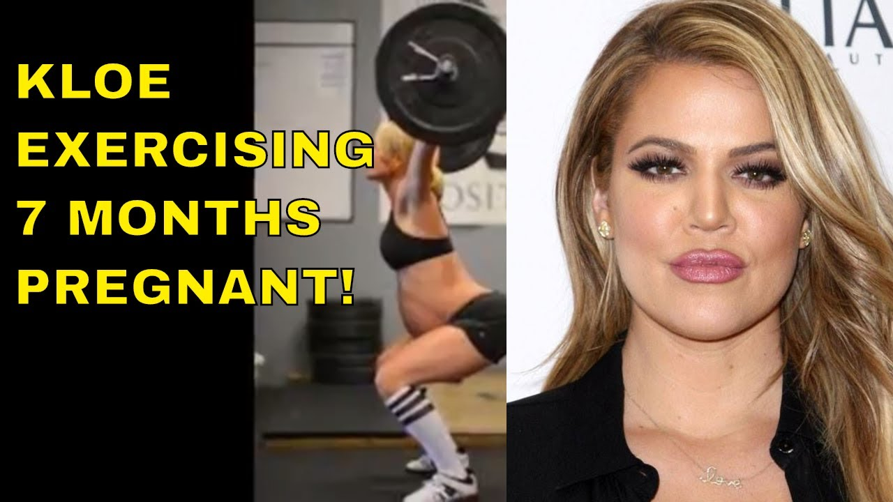 Fitness model shocked her press at 8 months of pregnancy - photo