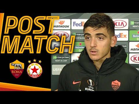 ROMA-CSKA SOFIA POST MATCH   Gonzalo Villar