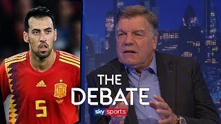 Does Allardyce really think Busquets is 'no better than Dier'? | The Debate