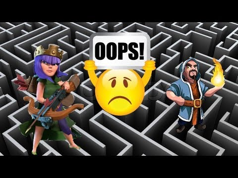 Ranged Troop AI Glitch in Clash of Clans ?