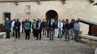 Baleares guarda un minuto de silencio por la mujer asesinada en el Secar de la Real