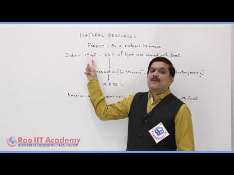 Natural Resources Part 1 Biology Pre foundation Std 10th video lecture