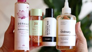 I TESTED MOST POPULAR GLYCOLIC ACID TONERS and This Is What Happened... | Zulayla