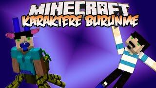 Minecraft : Eğlenceli Mod Tanıtımı : KARAKTERE BÜRÜNME - Her Şeye Bürünme ve Orantısız Vücutlar