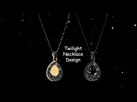Twilight Necklace Supports Social Distancing (GCIP DAY)