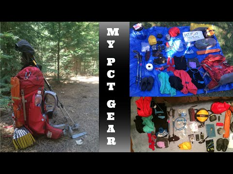 thru-hike-gear-list-|-pacific-crest-trail-|