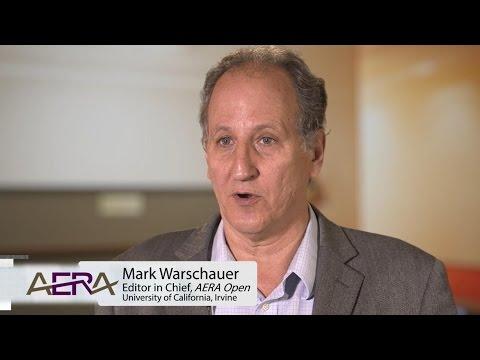 Editor-in-Chief Mark Warschauer Discusses AERA Open