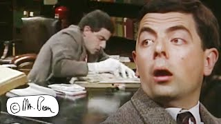 Library Sketch (Not seen on TV!) | Mr. Bean Official