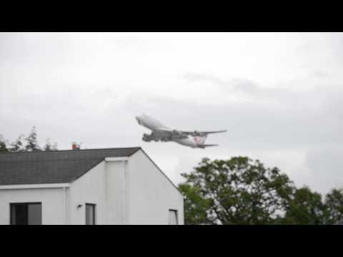 VS161 Departing Belfast International Airport 25/6/2015