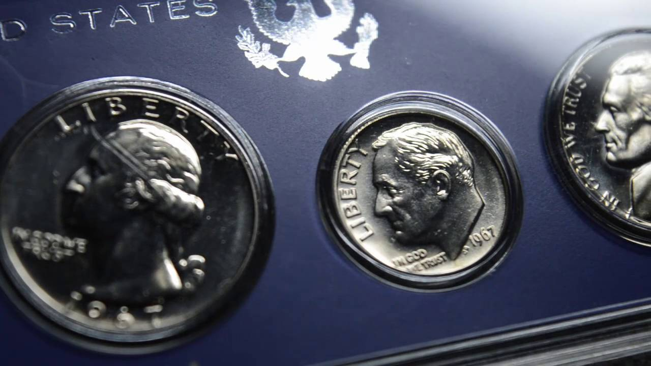 1967 Special Mint Set Lincoln Penny Beautiful Coin!