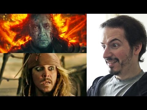 PIRATES OF THE CARIBBEAN: DEAD MEN TELL NO TALES - Official Trailer REACTION & REVIEW