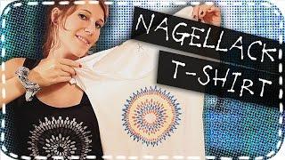DIY-Nagellack-T-Shirt | Es funktioniert!