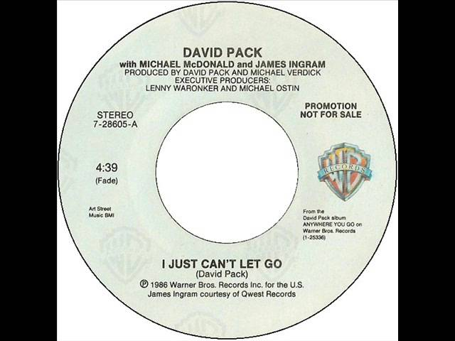 David Pack-I Just Can't Let Go Chords - Chordify