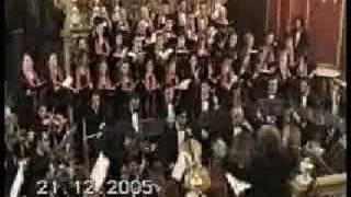 Nativity Carol - John Rutter. Amadeus Chamber Choir (Malta)