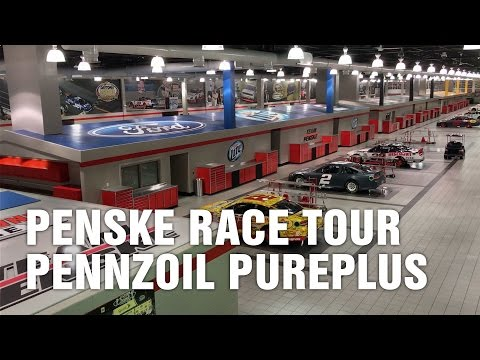 Team Penske Racing Facility, Joey Logano's Shop, Pennzoil PurePlus Motor Oil
