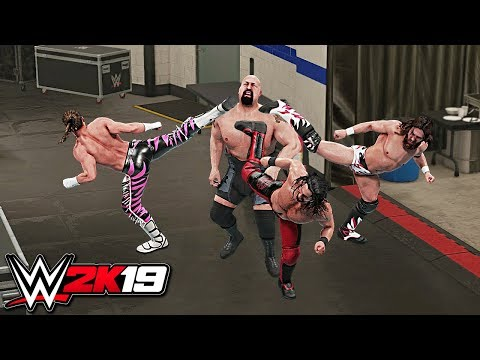 WWE 2K19 Top 10 Finisher Combinations!