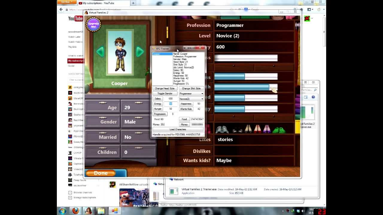 how to get unlimited coins in virtual families 2