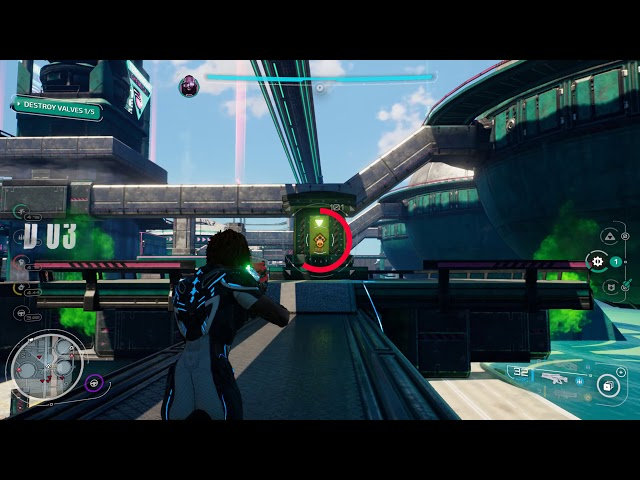 Crackdown 3 PC Campaign gameplay - Let off some steam, Keita