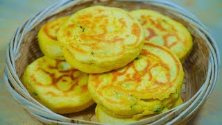 Cornmeal shortcake is so soft and delicious, the method is simple, nutritious and delicious