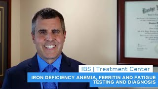 iron deficiency anemia ferritin and fatigue testing and diagnosis