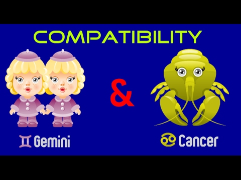 Gemini & Cancer Sexual & Intimacy Compatibility