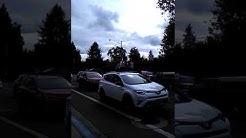 Three car pile up on Coburg Road Eugene Oregon
